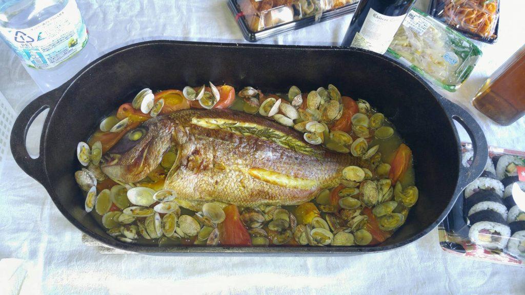 お客様がこんな素敵な料理を振る舞ってくださることも
